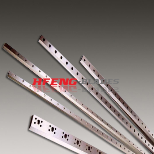Paper cross-cutting blades